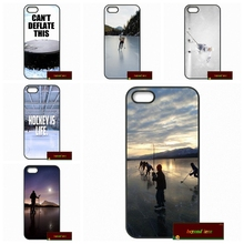 Love Ice Hockey greatest Phone Cases Cover For iPhone 4 4S 5 5S 5C SE 6 6S 7 Plus 4.7 5.5    AM0034