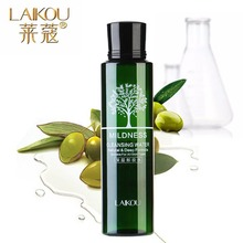 LAIKOU Olive Oil Makeup Remover Intensive Purify Cleansing Water Skin Care Eyes Lips Face Deep Clean Cleaner Wiper 100ml(China)