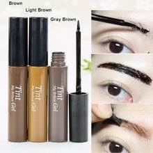 New arrival !!! Peel off Eyebrow Enhancer Tint Gel Tattoo Makeup Eyebrow Cream Dye Color Natural 3 Days Long Lasting(China)