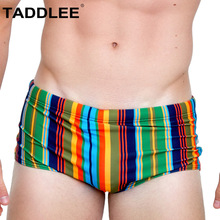 Buy Taddlee Swimwear Men Sexy Swimsuits Swim Boxer Briefs Bikini Gay Penis Pouch WJ Low Rise Bathing Suits Trunks Board Surf Shorts