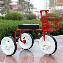 Hot Sale 2017 New Children's three-wheeled bike high carbon steel material kid's bicycle 1-2-3-4 year old child bike simple(China)