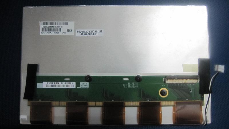 7 inch C070VW02 V0 LCD screen<br><br>Aliexpress