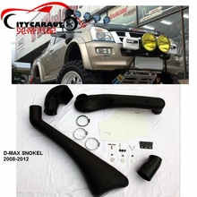 CITYCARAUTO SNOKEL KIT Fit FOR D-MAX 2008-2012 Wildtrak Air Intake LLDPE Snorkel Kit Set 4X4 4WD DMAX(China)