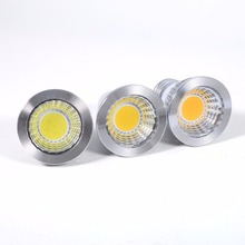 Ultra Bright 3W GU10/MR16/E27 LED Bulbs COB Spotlight High Power Led Lamp(China)
