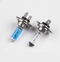 2pcs H7 12V 55W 6000K Super White Halogen Xenon Bulbs Car Light Source Headlight Auto Parking Lamp