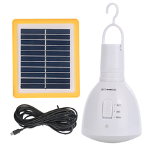 New Camping Lantern LED Camping Tent Light Bulb Solar Lamp for Camping Mini Portable Solar Panel Camping Light Lamp Outdoor(China)
