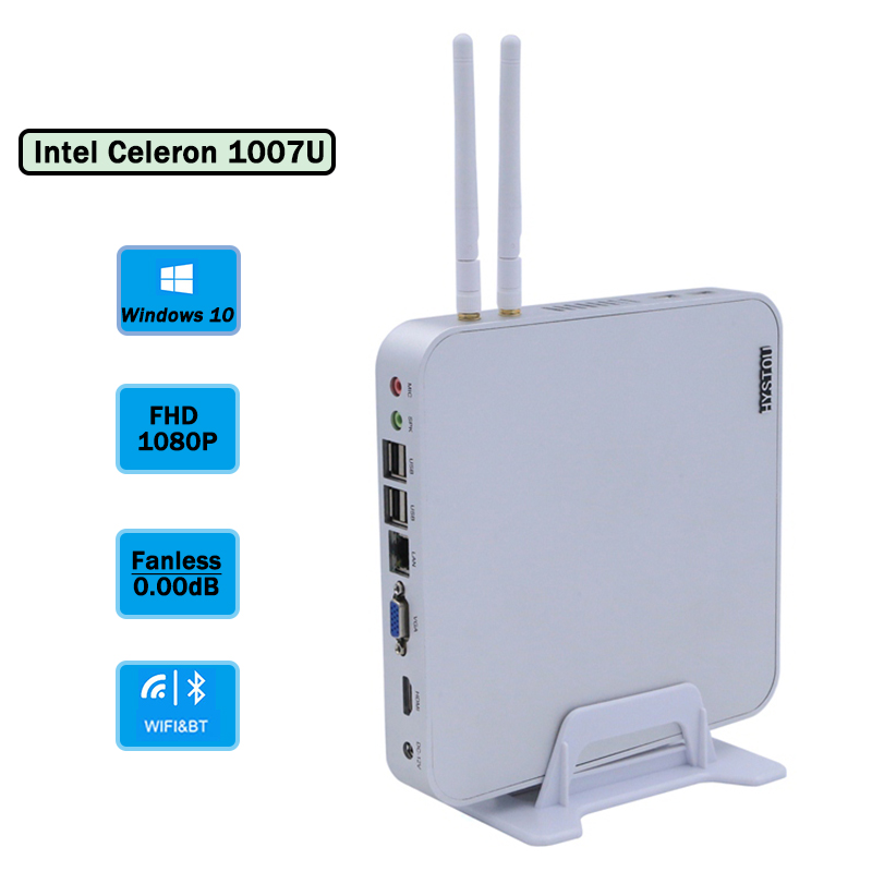 Cheap Industrial Mini PC Intel Celeron 1007u Cpu 1.5ghz 1080p Resolution XP pro Tablet Computer Lan VGA HDMI WIFI 4*USB3.0ports(China (Mainland))