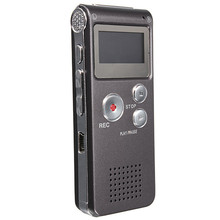 New Recording 8GB Professional Digital Audio Voice Recorder Mini Dictaphone MP3 Player Recording Pen Recorder