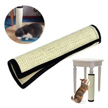 Cat Mat Scratching Board Sisal Hemp Pet Wall Corner Table Chair Legs Play Post Tree Kitten Pet Plush Flying Toy Hanging Bed