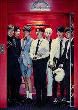 BTS South Korean band retro Poster Kraft Paper Wall Sticker Music Bar Cafe bedroom wall decoration Home Furnishing Poster