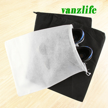 vanzlife non-woven shoes pouch traveling shoes pocket outdoor drawstring pouch dust protection bags