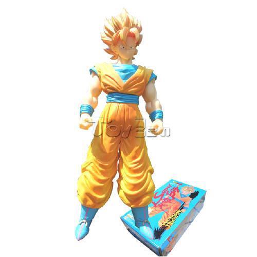 HOT AnimeDragonball Z 36cm Super Saiyan Son Goku Action Figure PVC Model Toy Gift<br>