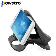 Powstro Universal phone stand GPS holder  Car Dashboard Cell Phone Holder HUD Design Bracket For iphone sumung GPS smartphone