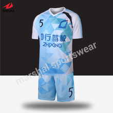 thailand original soccer jersey soccer uniform customized footballs kits(China)