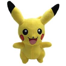 Cute 25cm Pikachu Plush Toys Hot Anime Character Plush Toys Childrens Christmas Gift Toy Kids Cartoon Peluche Pikachu Plush Doll