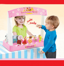 Innovative,realistic,special,DIY,best gifts,play with friends,payment,ice cream,recognition capability,sale,Dessert shop set