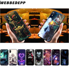 Мягкий силиконовый чехол WEBBEDEPP League of Legends для iPhone 11 Pro Xr Xs Max X или 10 8 7 6 6S Plus 5 5S SE Case 8 Plus(Китай)
