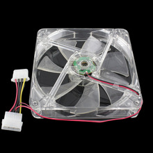 Double Head Large 140x140x25mm Computer Case Fans 12 Volt 4pin Brushless 14cm DC Fans Chassis Fan Cooler Cooling Radiator