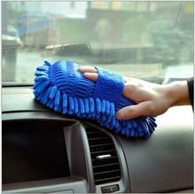 New Real Microfiber Car Washer Cleaning Care Detailing Brushes Washing Towel Auto Gloves Styling Supplies Accessories Wholesale