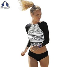 one piece swimsuit long sleeve biquini brasileiro swimwear women sexy one piece swimwear one piece bathing suits for women(China)