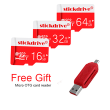 2017 Wholesale Micro memory card Micro SD card class10 TF card Microsd 64GB 32GB 16GB 8GB Pen drive Flash memory disk for Phone(China)