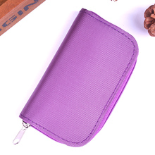 22 Card places SDHC MMC CF XD SD Memory Card Storage Carrying Pouch Bag Wallet Handbag(China)