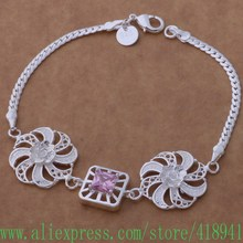 925 sterling silver bracelet, 925 sterling silver fashion jewelry well made windmill /edyamvfa bfaajwha AH205(China)