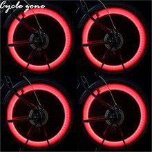 cycle zone 2017 New Arrive High Quality Bicycle Tire LED Flash Light 4 Kinds Patterns LED Cycling Bike Wheel Spoke Lamp
