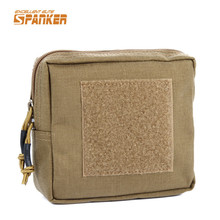 SPANKER 1000D Molle EDC Utility Accessory Pouch Tactical Hunting Mag Drop Pouch Outdoor Camping Hiking Sport Min Bag Waist Pack