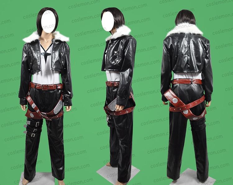 Final fantasy Squall Leonhart FF8 Cosplay Costume Custom COS