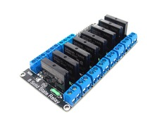 8 Channel 5V DC Relay Module Solid State Low Level OMRON SSR AVR DSP