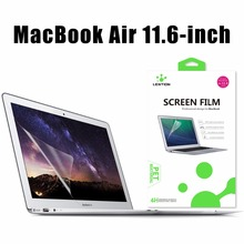 Ultra Transparent Anti-scratch Screen Protector Top Quality Thin Protective Guard PET Flim For Apple Laptop MacBook Air 11 Inch