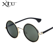 Super Deal Luxury Brand Designer Sunglasses Women Round Vintage Fashion Glasses for Women Mirror Lenses Oculos De Sol UV400