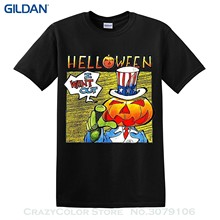 GILDAN Short Sleeve Fashion Helloween I Want Out T-shirt - Power Metal Heavy Metal - New(China)