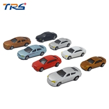 2017 new style miniature resin scale model car 1:200 plastic model car(China)