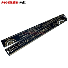 25CM 10 Inch PCB Ruler For Electronic Engineers Measuring Tool PCB Reference Ruler Chip IC SMD Diode Transistor R-4 Gold Plated(China)