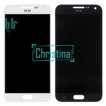 Top Quality LCD Replacement HH For Samsung E5 E500 E500F E500H E500M LCD display screen with touch glass digitizer assembly