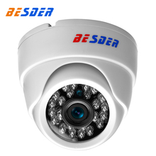 BESDER Cheapest SONY IMX322 HI3516C Ip Camera 1080P Full HD Small Dome CCTV Indoor Security Camera IP Onvif XMeye Remote Viewing(China)