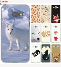 Lavaza Lovely Cute Snow Brown Fox Pattern Hard Case for Galaxy A3 A5 J5 (2015/2016/2017) J3 J5 Prime J7(China)