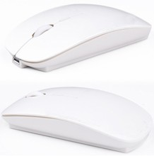 2.4GHZ USB Computer  Rechargeable Wireless Mouse With Charging Cable For PC Laptop
