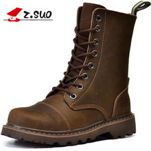 "Z. Suo ""women boots, canister boots restoring ancient ways of fashion women, high quality with ladies boots. botas mujer zs6818"