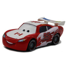 Disney Pixar Cars Diecast NO.95 Maple leaves Canada McQueen Metal Toy Car 1:55 Loose Brand New Alloy Car Toy for Children(China)
