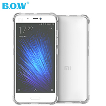 for Xiaomi Mi5 Case Original B.O.W Brand TPU Protective Cover for Xiaomi Mi 5 Case Cover Fundas Mi5 back cover(China)