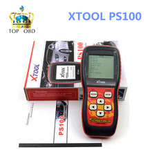 Original XTOOL PS100 OBDII EOBDII Auto code reader canner PS 100 OBD2 Diagnostic tool including The VPW, PWM, ISO, KWP 2000