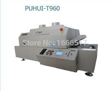PUHUI T-960 LED Wave reflow Soldering Machine SMT Reflow Oven infrared IC Heating Length 960mm Max PCB Board Length 300MM