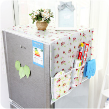 Transparent printing waterproof cover refrigerator pouch hang the bag C080 single and double door refrigerator(China)