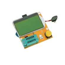 1pcs Multifunction LCD Backlight Transistor Tester Diode Triode Capacitance ESR Meter MOS PNP NPN LCR(China)