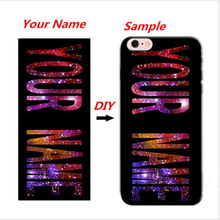DIY Name Customized Phone Cover Case for HTC One A9 X9 X/SV One Mini M4 One M8/One 2 M8S M9/M9 PLUS Wildfire S G13