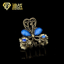 Retro 4 Colors Avaiable Resin MINI Butterfly Hair Claw Clip Hair clips Hair Accessories for Women Hair jewelry(China)