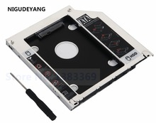 "2nd Second SATA HDD SSD Hard Drive Unibody Caddy for MacBook Pro 13"" 15"" 17"" 2009 2010 2011 2012(China)"